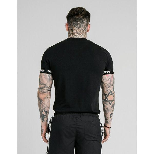 SikSilk Tech Tape T-Shirt Heren