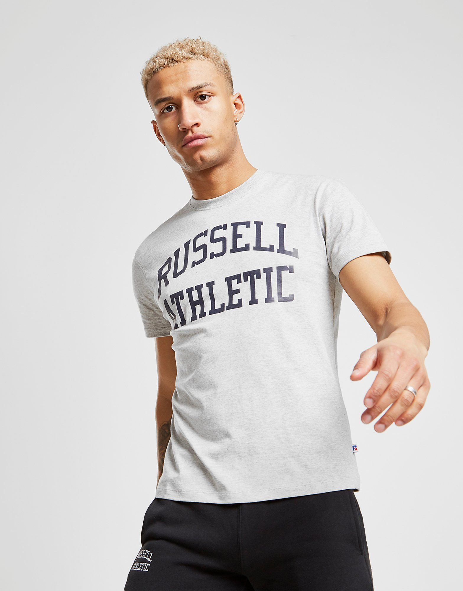 Russell Athletic Arch Logo Short Sleeve T-Shirt