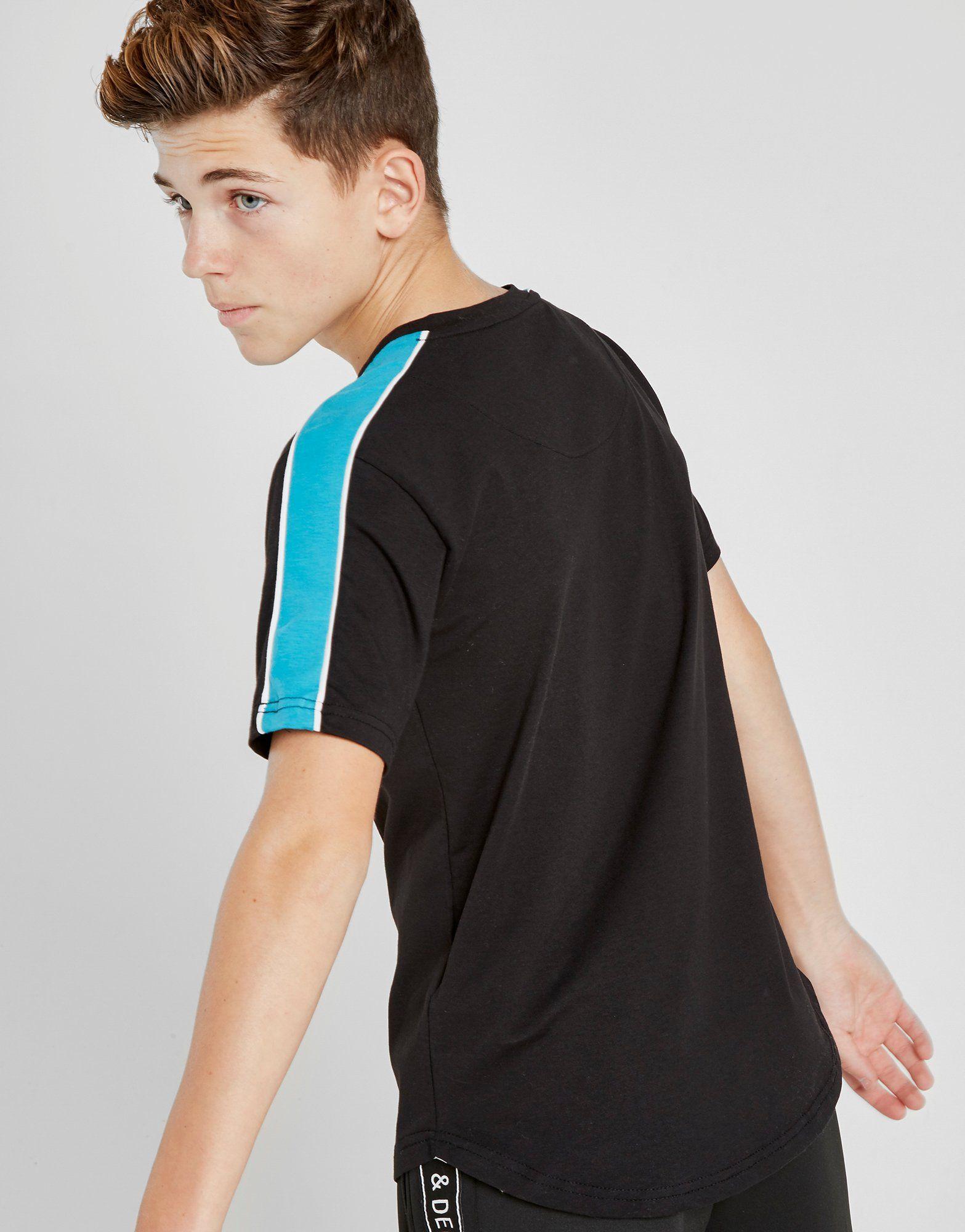 Supply & Demand Panel Chest T-Shirt Junior