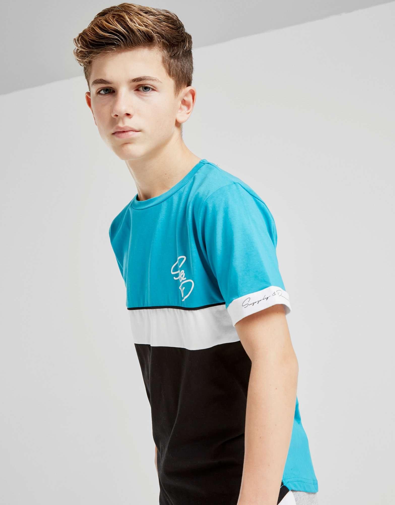 Supply & Demand Cuff T-Shirt Junior