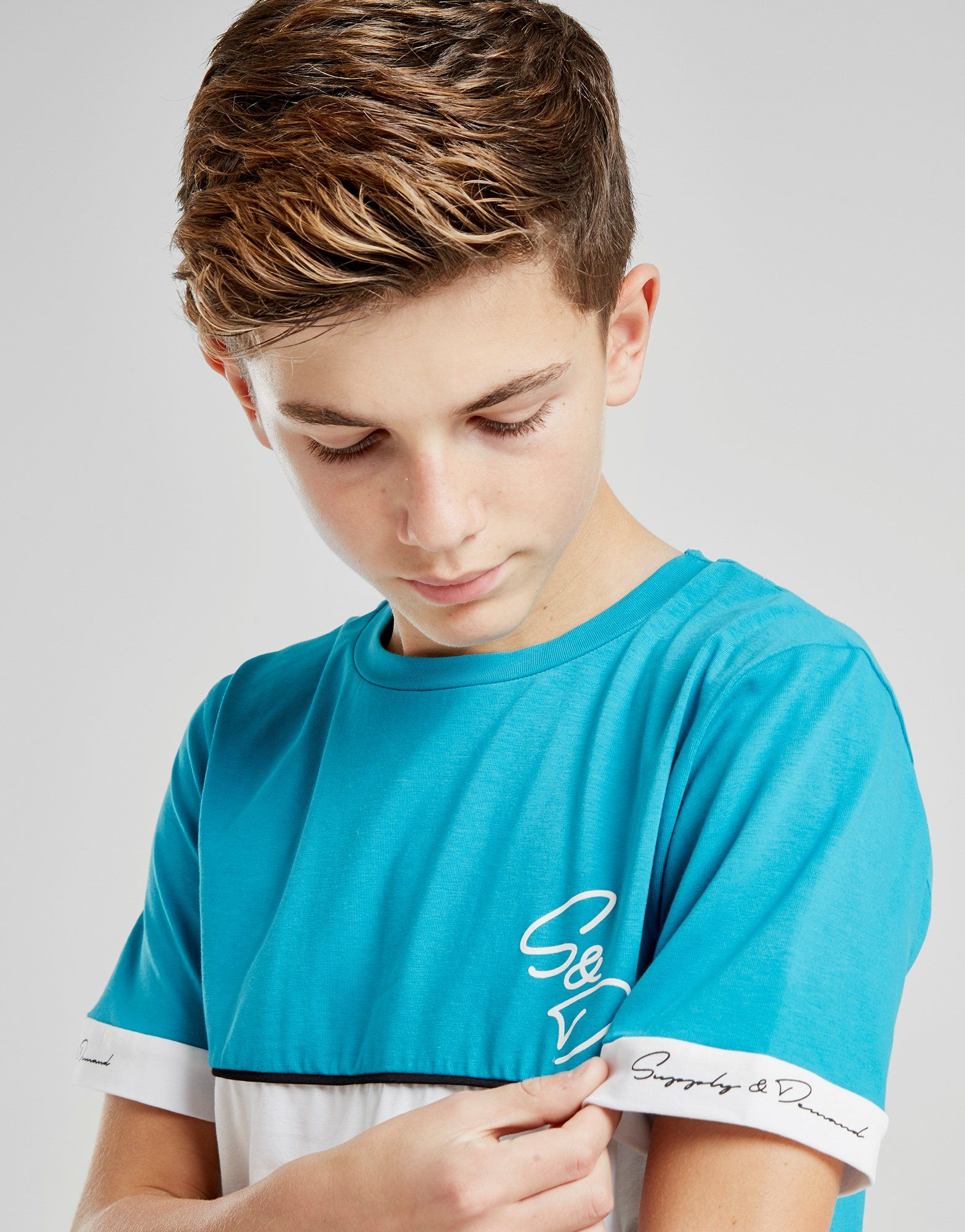 Supply & Demand Cuff T-Shirt Junior