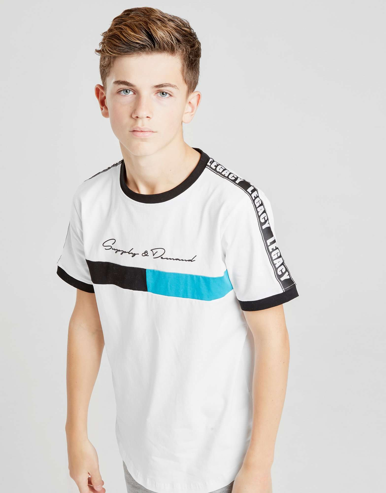Supply & Demand Block T-Shirt Junior