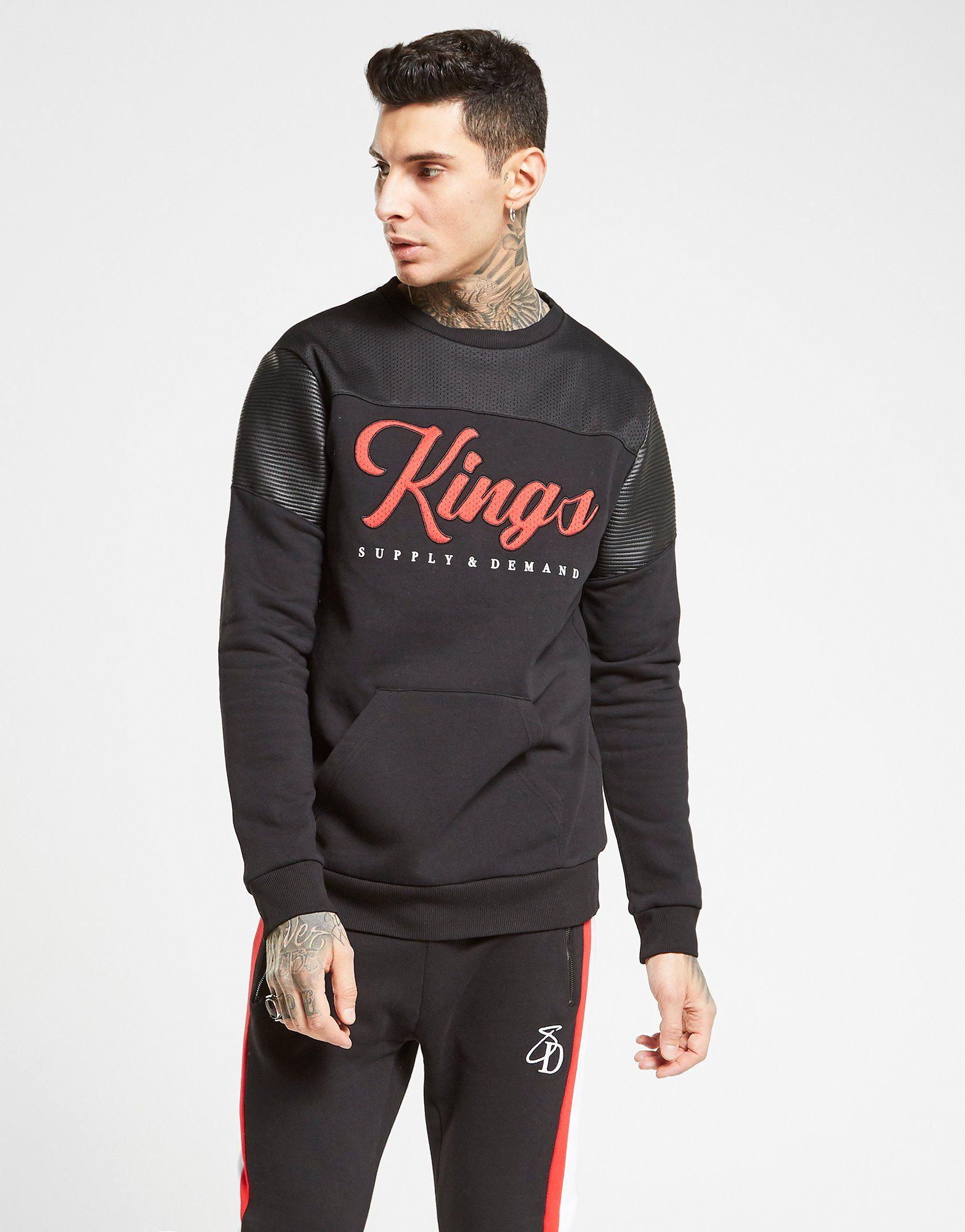 Supply & Demand Bowling Crew Sweatshirt