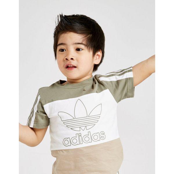 adidas Originals Spirit Colour Block T-Shirt/Shorts Infant