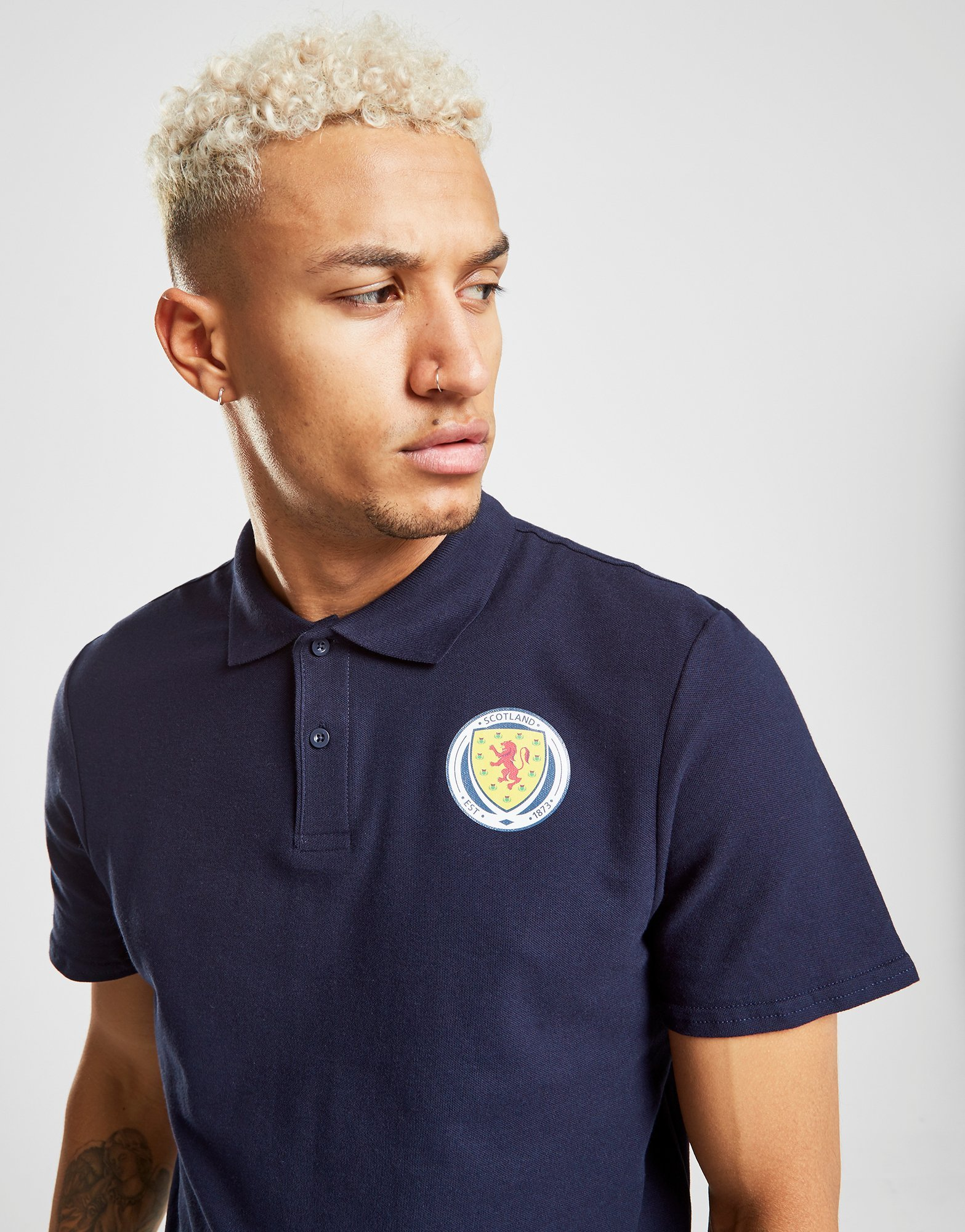 Official Team Scotland FA Polo Shirt