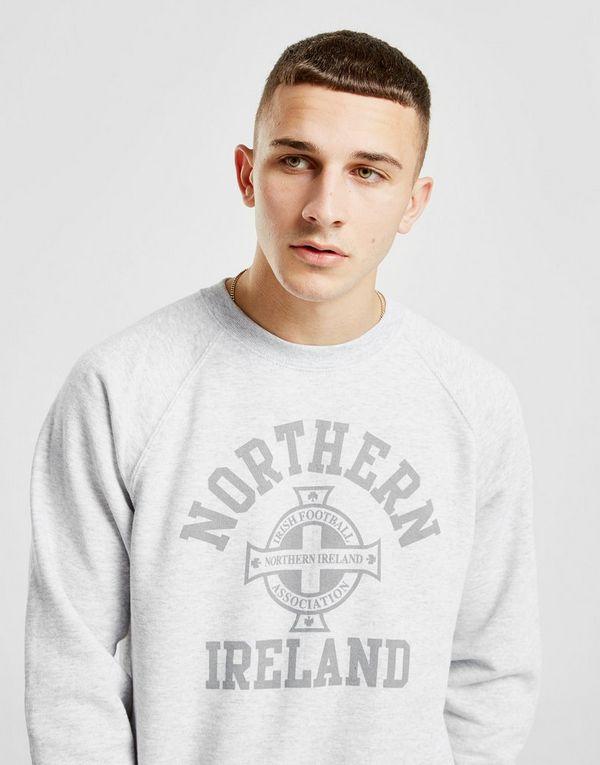 Official Team Northern Ireland Crew Sweatshirt Heren