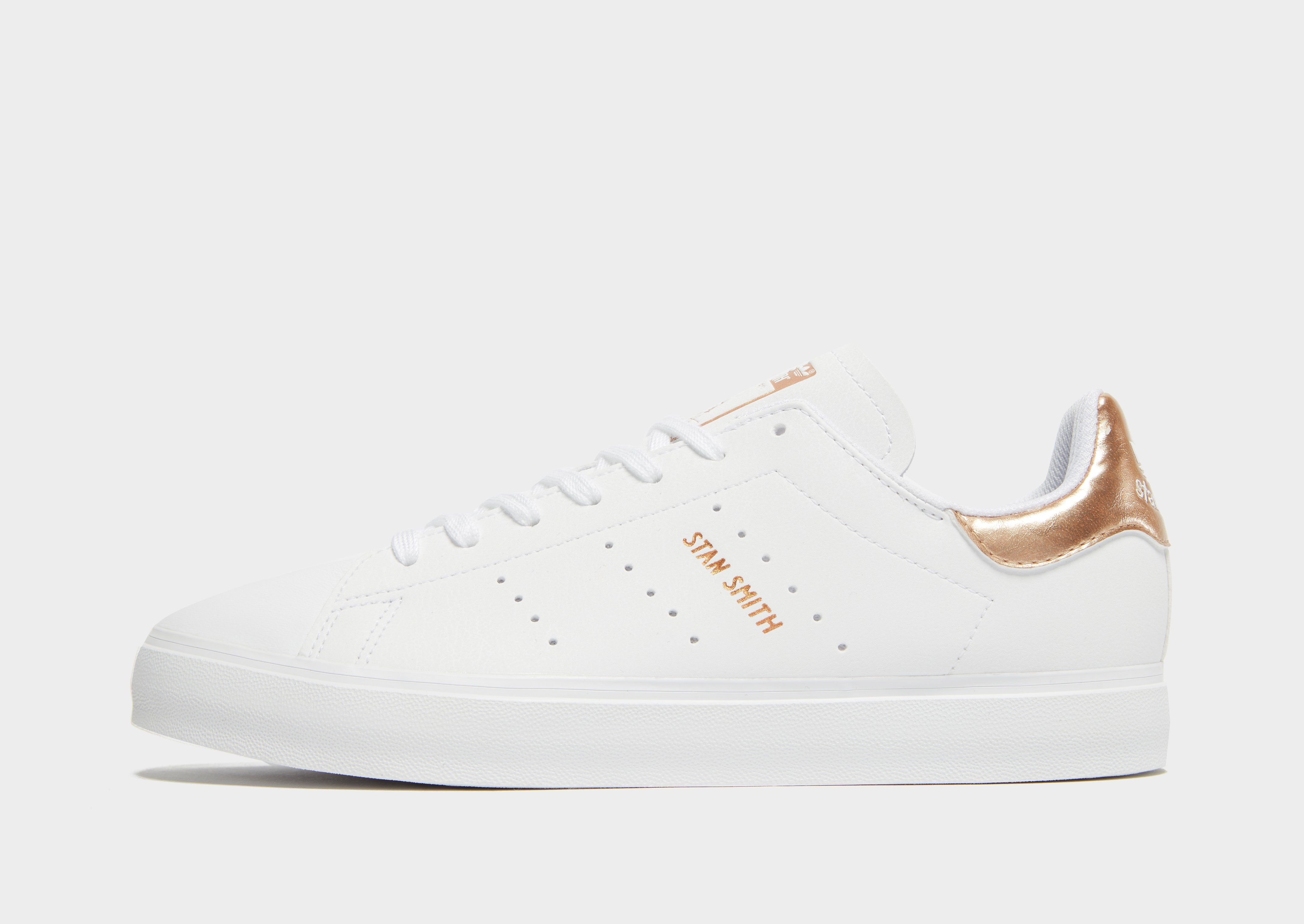best cheap f2d4f 7afbf adidas Originals Stan Smith Vulc Junior | JD Sports Ireland