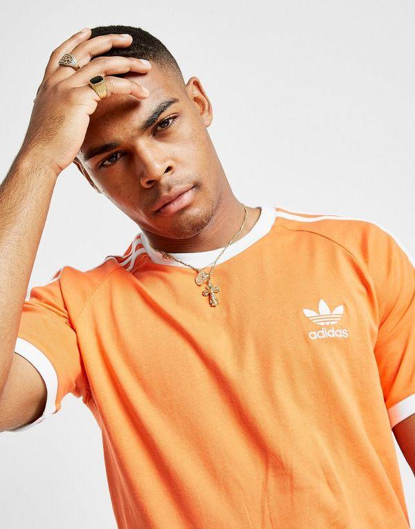 adidas Originals 3-Stripes California Short Sleeve T-Shirt Heren