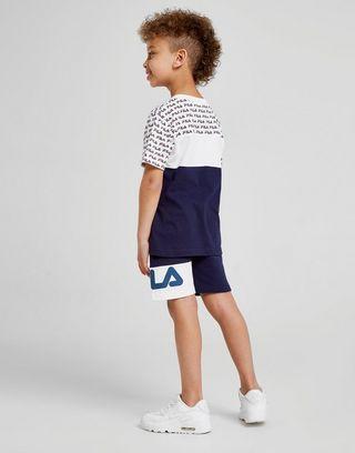 Fila Barrie T-Shirt/Shorts Set Children