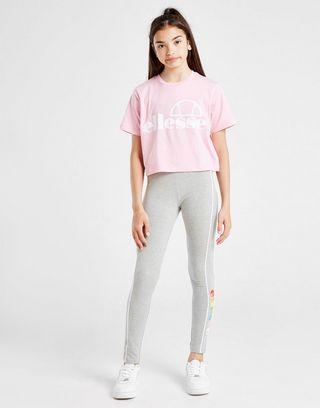 Ellesse Girls' Finaro Crop Logo T-Shirt Junior