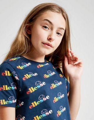 Ellesse Print T-Shirt Kinder