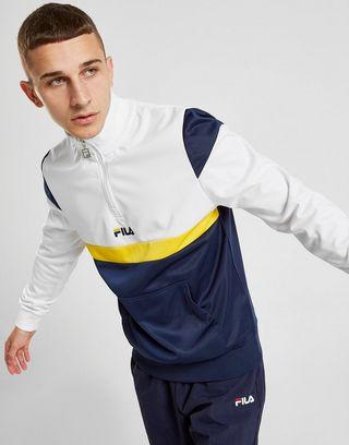 Fila Sweat shirt Colm Poly 12 Zippé Homme | JD Sports