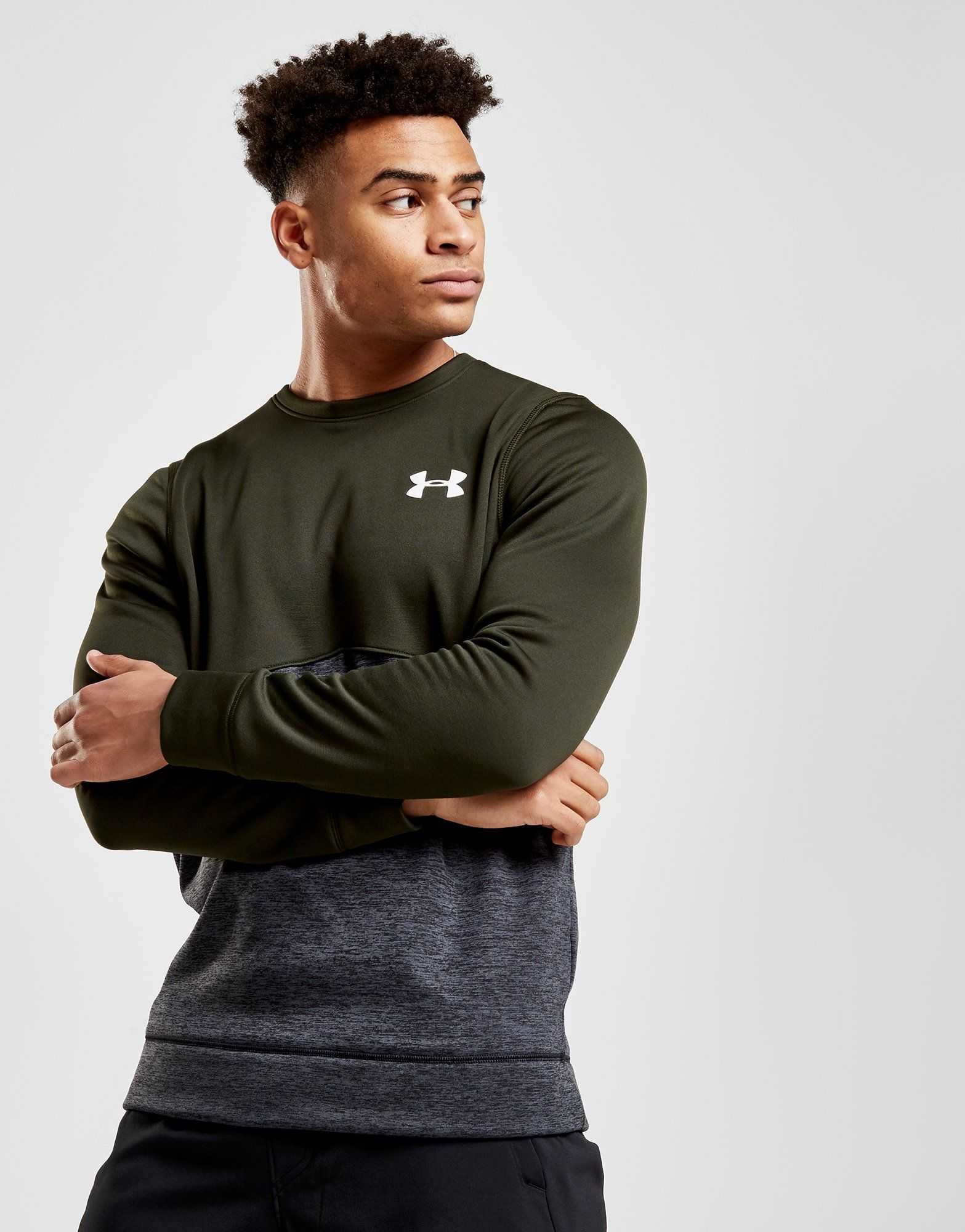 Under Armour Fleece Poly Crew Sweatshirt
