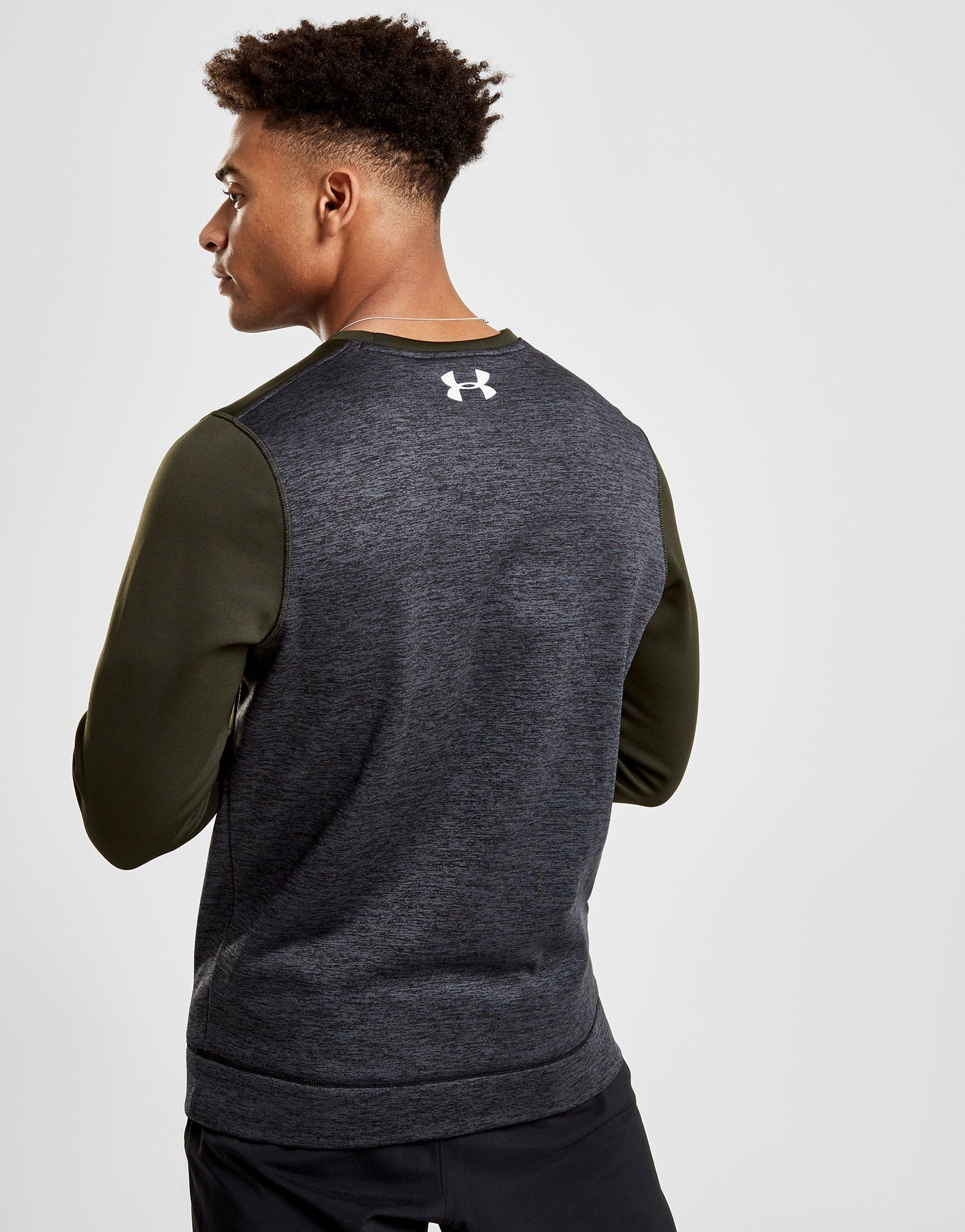 Under Armour Sweat Fleece Poly Crew Homme