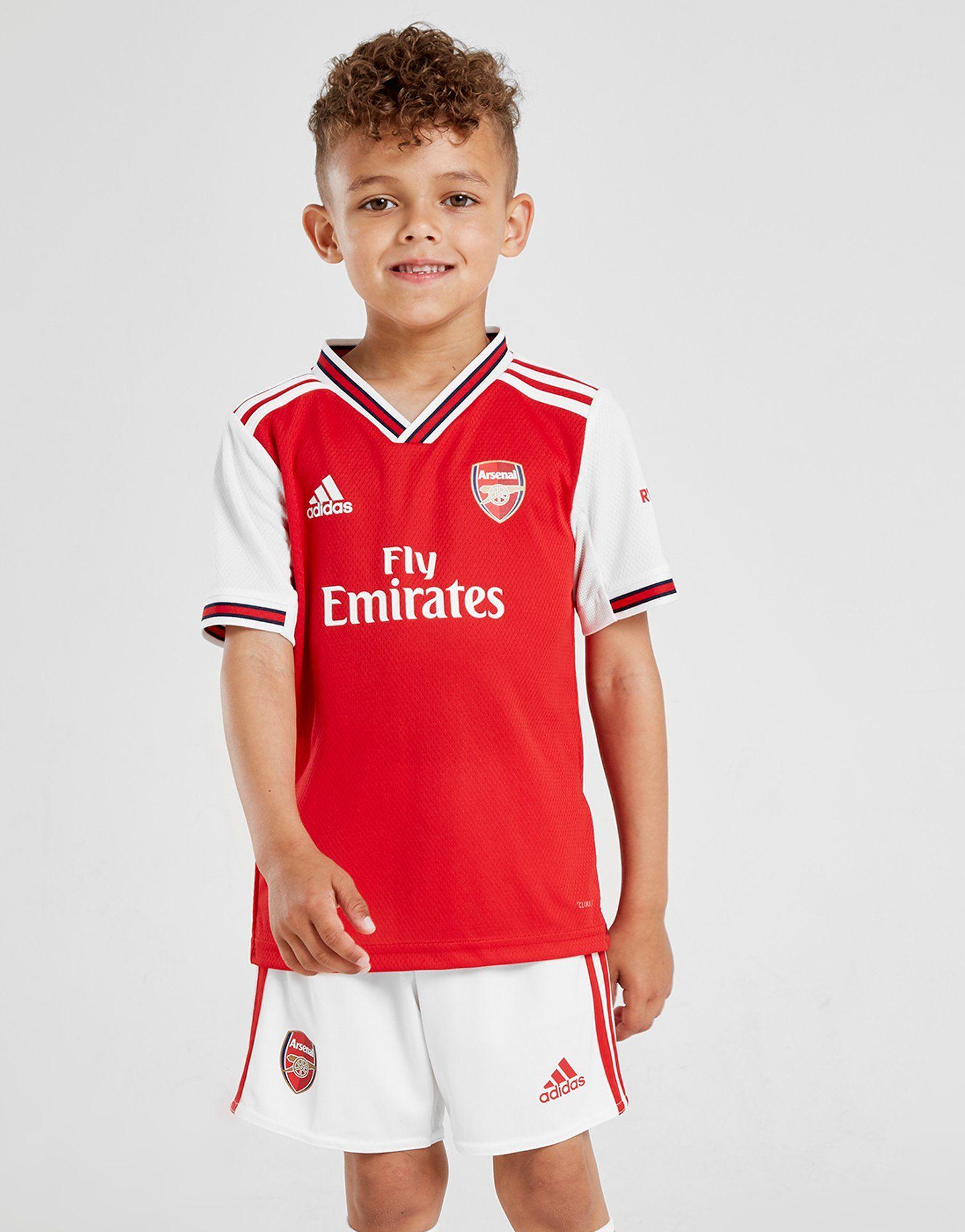 new product f6037 055a3 adidas Arsenal FC 2019/20 Home Kit Children | JD Sports Ireland