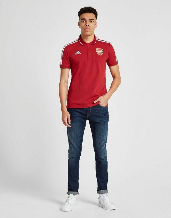 adidas Arsenal FC 3-Stripes Polo Shirt Heren