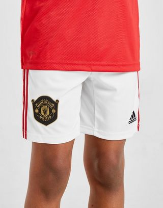 adidas Manchester Utd 19/20 Home Shorts Junior