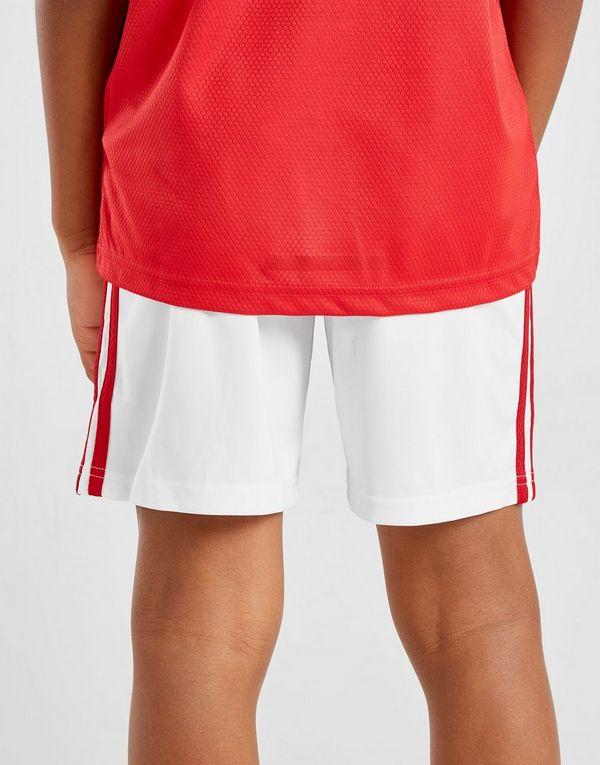 adidas Manchester United 19/20 Home Shorts Junior