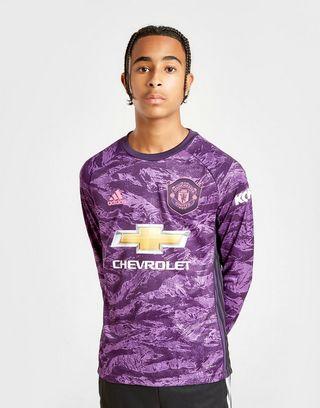 adidas Manchester United 19/20 Keeper Home Shirt Jnr
