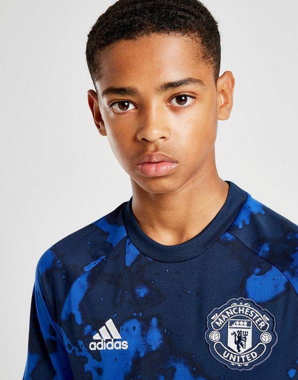 adidas Manchester United FC Pre-Match Shirt Junior