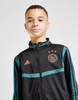adidas Ajax Presentation Tracksuit Junior