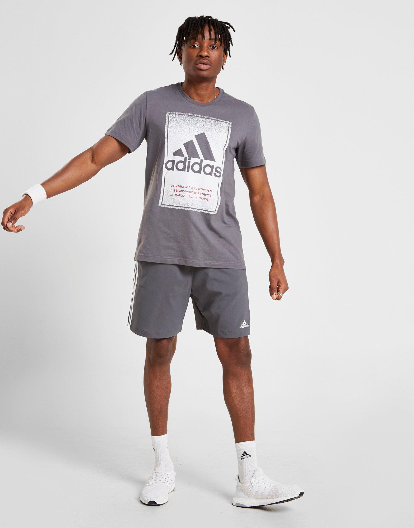 adidas camiseta Fade Box