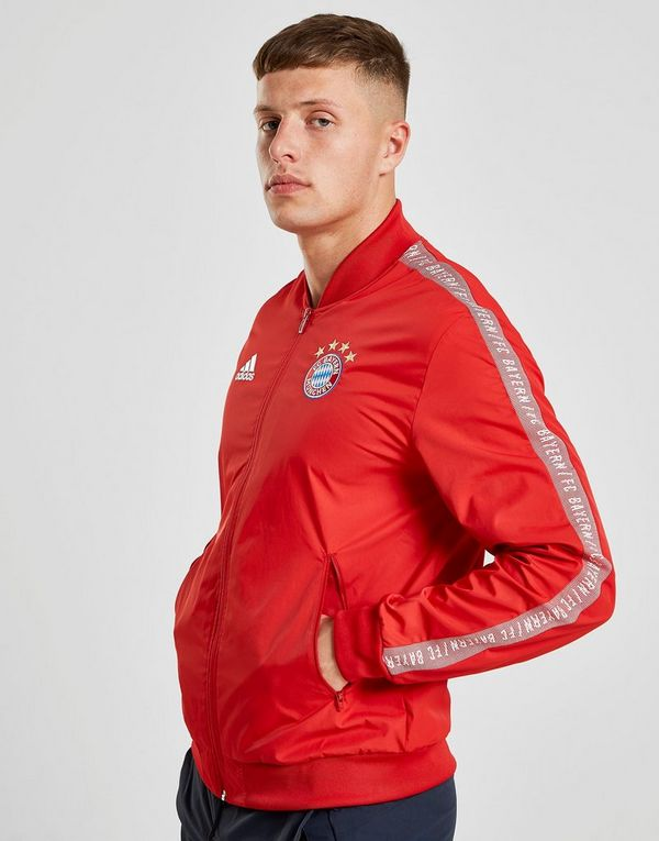 f84fdefda adidas FC Bayern Munich Anthem Jacket | JD Sports Ireland