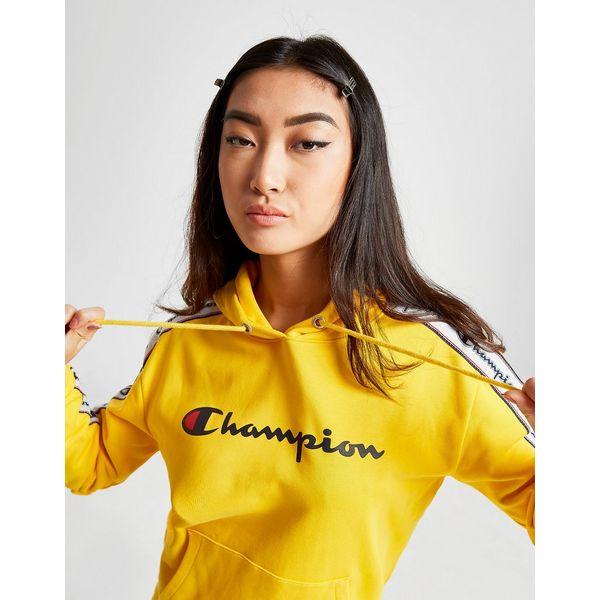 Champion Tape Boyfriend Overhead Hoodie Dames