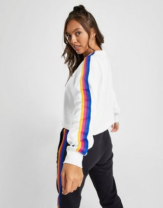 Champion Rainbow Crop Crew Sweatshirt