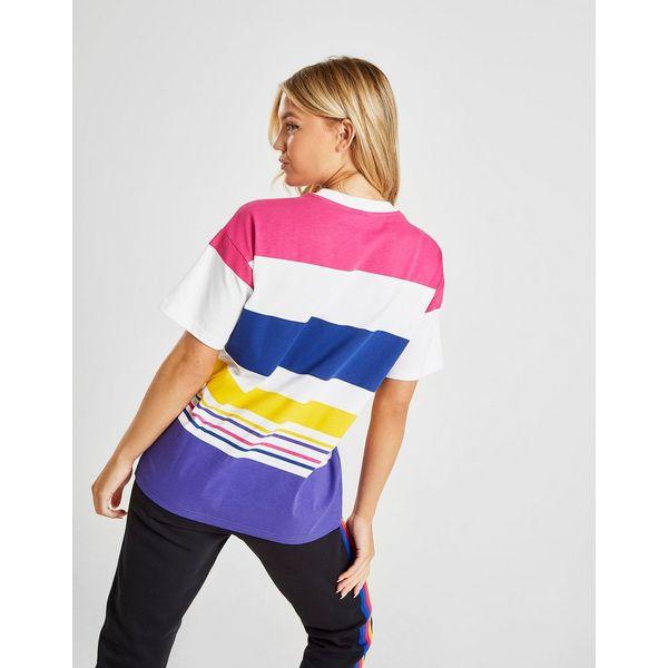 Champion Logo Stripe T-Shirt Dames