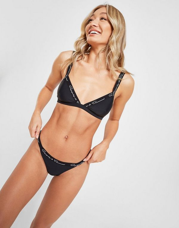 Supply & Demand Side Strap Bikini Bottoms Dames