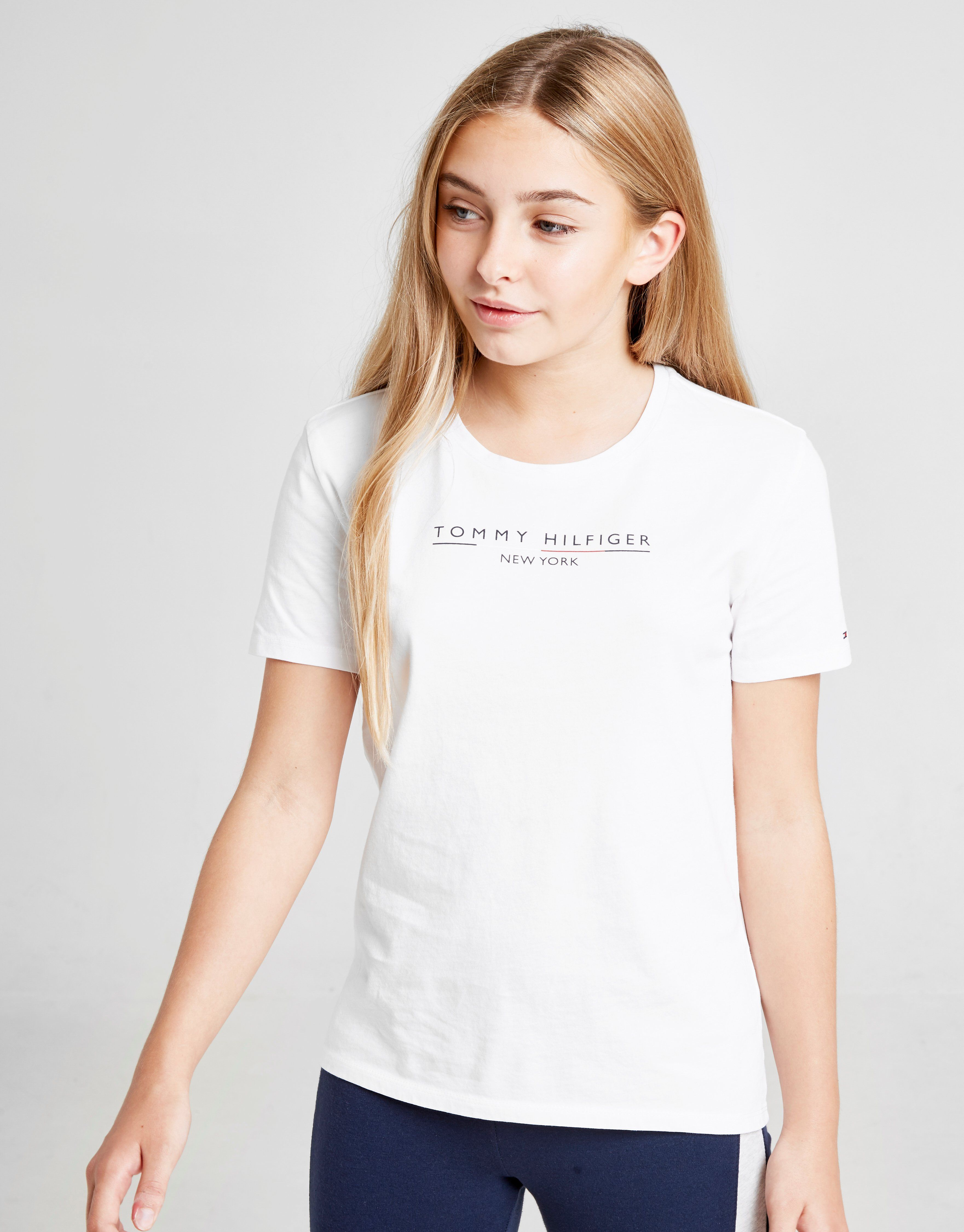 special section exclusive shoes affordable price Tommy Hilfiger Girls' Essential Logo T-Shirt Junior | JD Sports Ireland