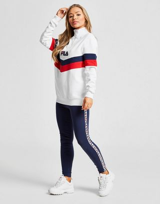 Fila Chevron 1/4 Zip Track Top