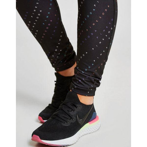 Jd Fitness Leggings: Pink Soda Sport All Over Print Leggings Damen