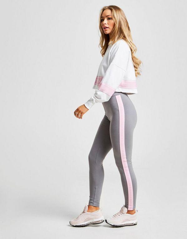 Pink Soda Sport Colour Block Crew Sweatshirt