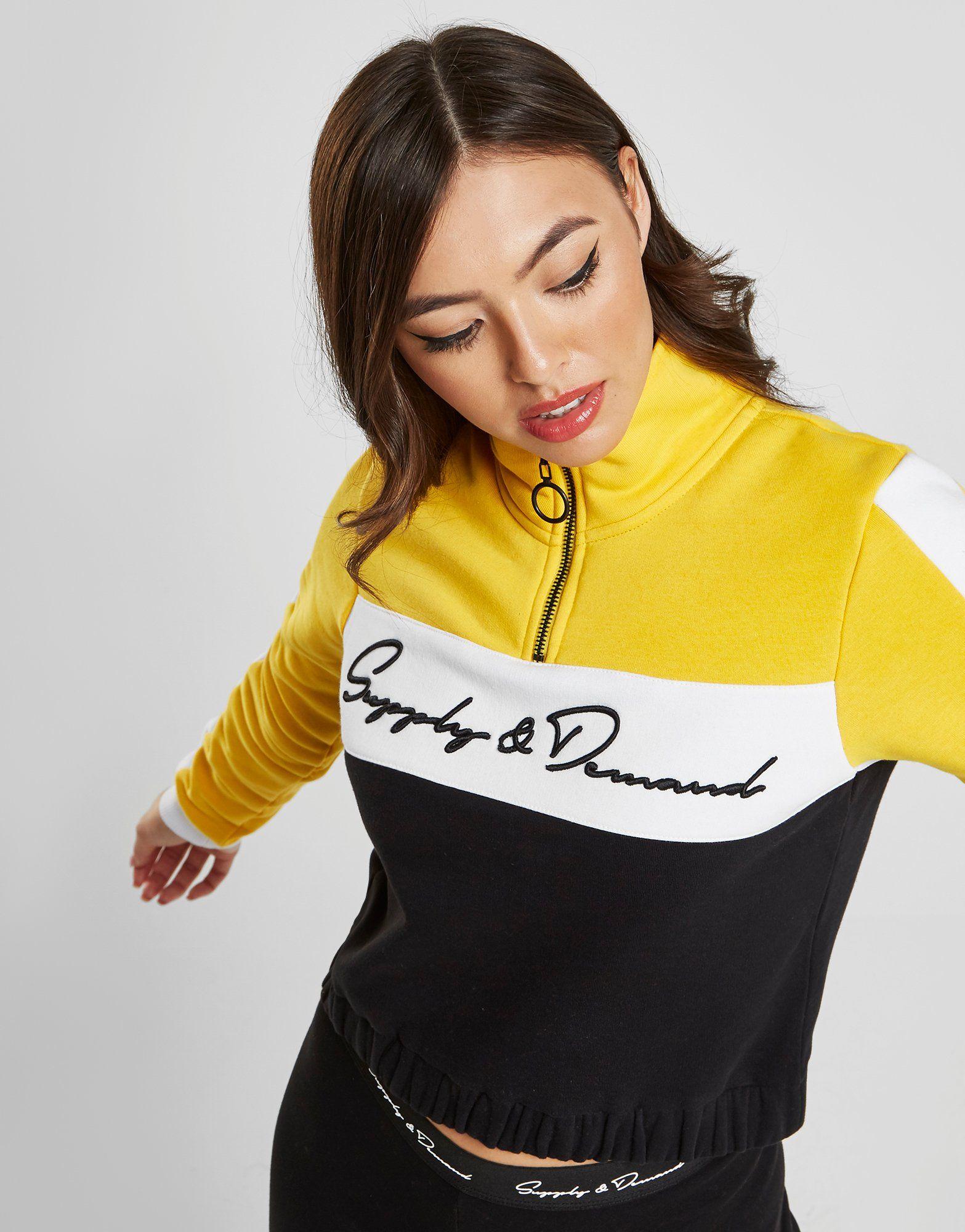 Supply & Demand Aluna 1/4 Zip Sweatshirt