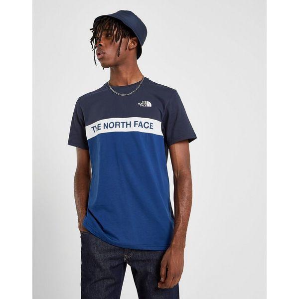 The North Face Train N Logo Colour Block T-Shirt Heren