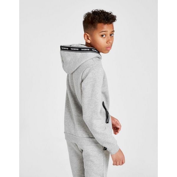 Rascal Tape Fleece Full Zip Hoodie Junior