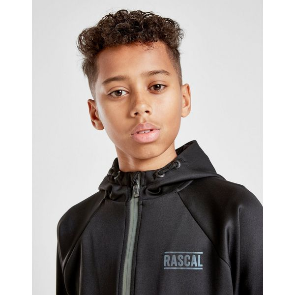 Rascal Poly Reflective Full Zip Hoodie Junior