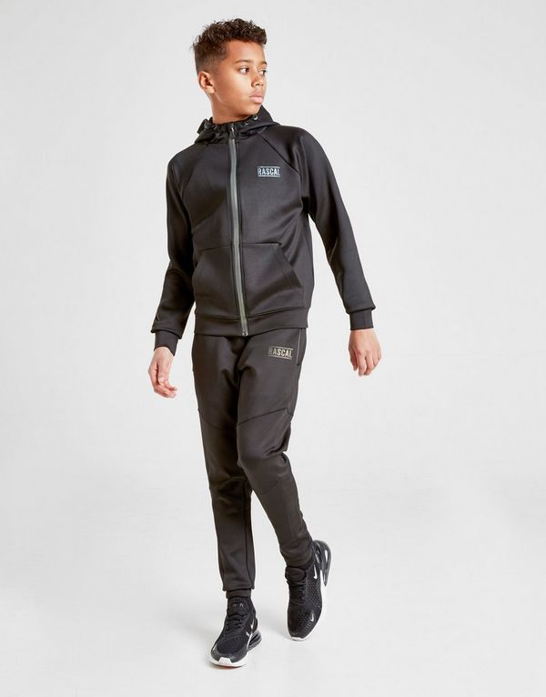 Rascal Poly Reflective Track Pants Junior