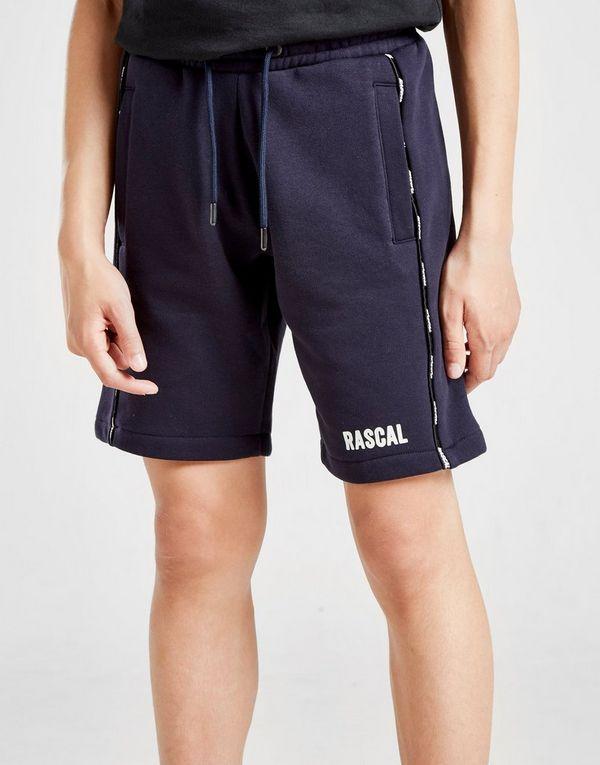 Rascal Logo Fleece Tape Shorts Junior