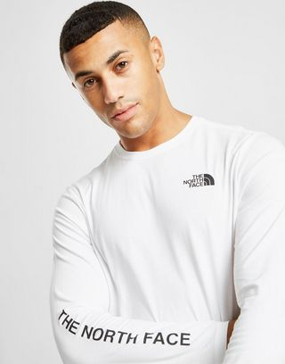 The North Face T-Shirt Manches Longues Homme