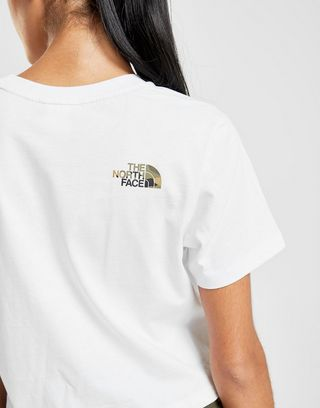 The North Face Camo Infill Crop T-Shirt Damen