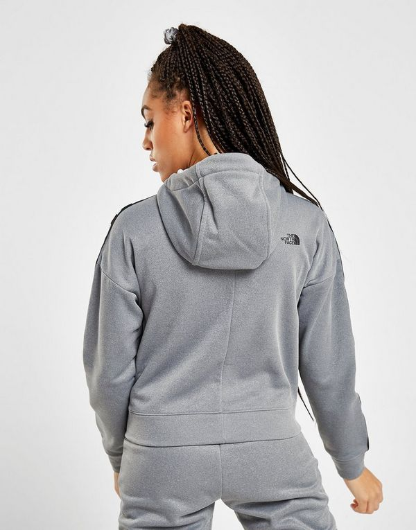 The North Face Tape Poly Full Zip Hoodie Dames