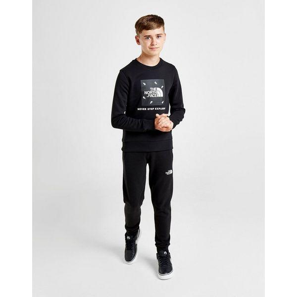 The North Face Box Crew Sweatshirt Junior