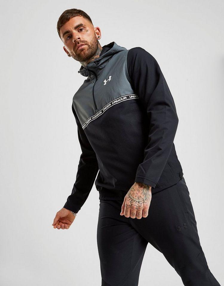 Under Armour Sportstyle 1/2 Zip Hooded Jacket Heren