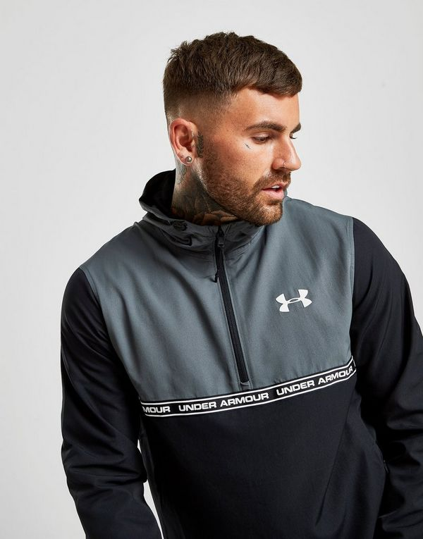 Under Armour Sportstyle 1/2 Zip Hooded Jacket Heren