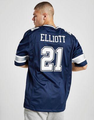 cheap for discount b06b4 cab4e Nike NFL Dallas Cowboys Elliott #21 Jersey | JD Sports Ireland