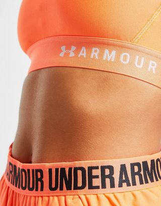 Under Armour Mid Crossback Sports Bra