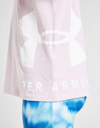 Under Armour Girls' Sportstyle Crop T-Shirt Junior
